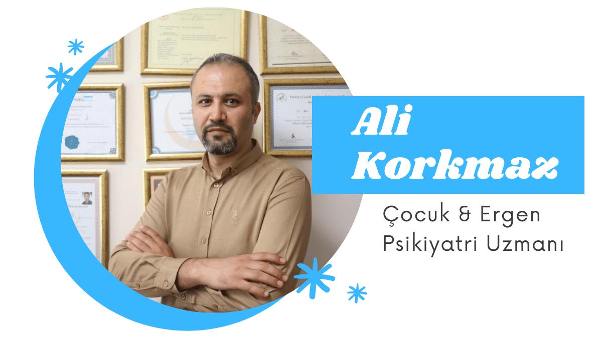 Uzman Klinik Psikolog Ali Korkmaz
